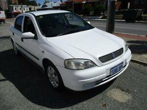 2003 Holden Astra TS MY03 CD White 5 Speed Manual Hatchback West Perth Perth City Area Preview