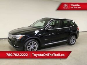 2016 BMW X3 X3; PANORAMIC SUNROOF, LEATHER, NAV, HEATED SEATS,