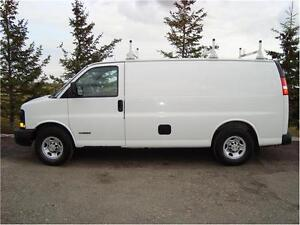 2003 CHEVY EXPRESS 3500 CARGO VAN 6.0L FOR ONLY $6,825.