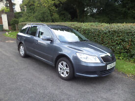 New Shape - 60 Plate-2011 - Skoda Octavia 2.0 TDI Diesel CR SE 5dr Estate - 1 Owner-Full S/H-Cambelt