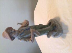 Bisque old man figurine