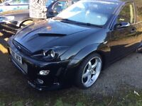 Ford focus Ghia St style - show car with performance brakes and high horse power eng -can deliver