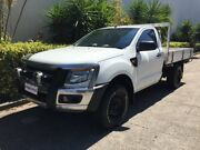 2013 Ford Ranger PX XL 3.2 (4x4) White 6 Speed Manual Cab Chassis Bowen Hills Brisbane North East Preview