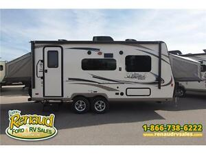 NEW 2017 Forest River Shamrock 19 Hybrid Travel Trailer Windsor Region Ontario image 3