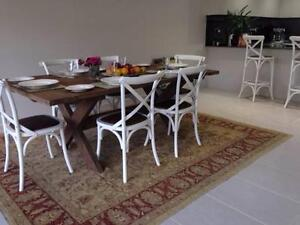 French Provincial Dining Table  and 6 chairs Chirnside Park Yarra Ranges Preview