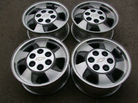 """4-16"""" 6 BOLTx5.5(139.7)CHEVROLET/GMC ALLOY RIMS WITH CENTERS"""