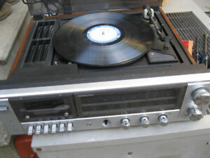 turn table - record player ,amplifier cassette player ,radio xxx