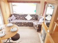 Perfect starter static caravan for sale at Church Point near Ashington in Northumberland