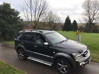KIA SORENTO XSE 2.5 CDI Auto, Black, Upgraded Alloys