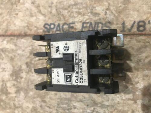 Cutler-Hammer C25DND325 contactor
