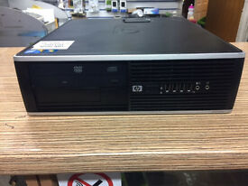 HP COMPAQ 8100 ELITE SFF Core i5 650 3.20GHz 4GB Ram 250GB HDD Win 7 Pro