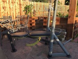 Proform G580 Weight Bench 140KG Olympic Bar Certified