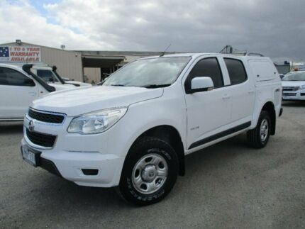 2013 Holden Colorado White Sports Automatic Utility Pakenham Cardinia Area Preview