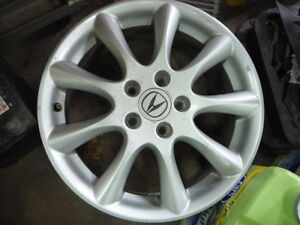 """4 mags acura tsx 17"""" oem"""