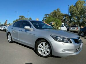 2010 Honda Accord 8th Gen MY10 V6 Luxury Silver 5 Speed Sports Automatic Sedan East Bunbury Bunbury Area Preview
