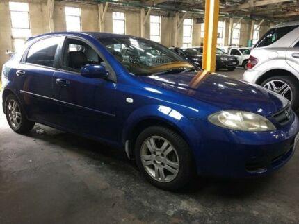 2006 Holden Viva JF Blue Manual Hatchback