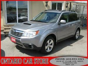 2009 Subaru Forester 2.5XT Turbo Limited AWD LEATHER SUNROOF