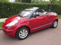 Bargain Car Sale Citroen C3 PLURIEL 1.6 2dr Red Convertible car Quick Sale
