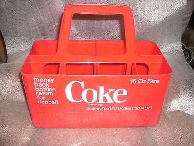 Original Coca Cola Plastic Bottle Carrier 8-16 ounce Bottles - Original Plastic Bottle