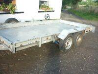 car transporter trailer 17 ft x 6ft