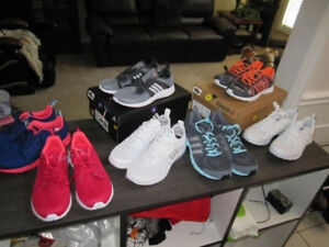 Running Shoes, adidas & Reebok, Br. New..variety of sizes $35.00