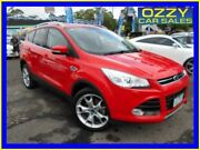 2014 Ford Kuga TF Titanium (AWD) Red 6 Speed Automatic Wagon Penrith Penrith Area Preview