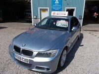 BMW 3 SERIES 2.0 320D M SPORT 4d 175 BHP turbo deisel 6 speed (blue) 2009