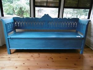 """SWEDISH BENCH/TRUNDLE BED - 80"""" X 20"""" X 40"""" H"""