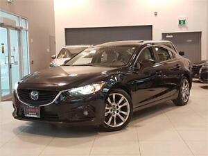 2014 Mazda Mazda6 GT-AUTO-NAVI-LEATHER-SUNROOF-LOADED-ONLY 65KM