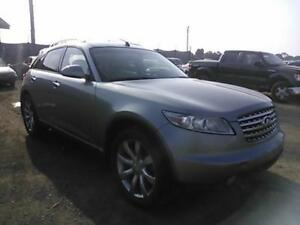 INFINITI FX 45 /FX 35 FOR PARTS PARTS ONLY