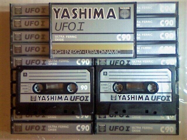 SEALED YASHIMA UFO  I  90     BLANK CASSETTE TAPE 1