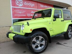 2016 Jeep Wrangler Sahara 2-door 4x4 / GPS Navigation