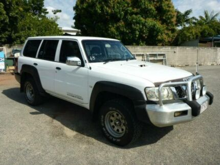 2006 Nissan Patrol GU IV MY06 DX White Automatic Wagon Rosslea Townsville City Preview