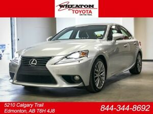 2014 Lexus IS 250 Luxury Package, AWD, 3M Hood, Navigation, Leat