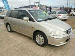 2003 Honda Odyssey V6L (6 Seat) Gold 5 Speed Sequential Auto Wagon Wangara Wanneroo Area Preview