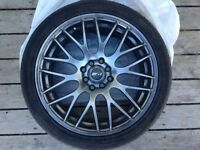 "17"" MSR 045 Rims and tires!"