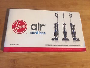 Hoover Air Cordless 3.0 Windtunnel Technology West Island Greater Montréal image 3