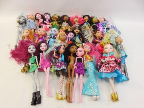 6+ Lb Bulk Lot of Assorted Loose Mattel Monster High Dolls - LOT