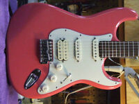 CUSTOM CORAL SHELL PINK STRATOCASTER