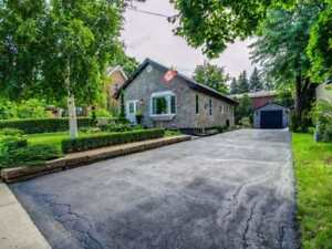 A Charming Home Bungalow In The Desirable Downtown Brampton