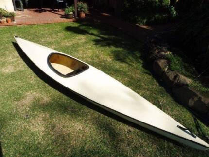 Kayak Canoe Sit in + Paddle
