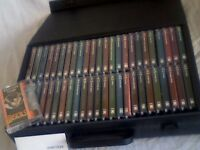 THE MUSICALS COLLECTION BY ORBIS : 48 TAPES IN CASE. VERY-VERY RARE & SELDOM USED. £80 OR OFFERS.
