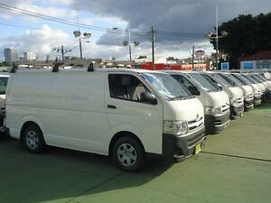 2011 Toyota Hiace KDH201R MY11 Upgrade LWB White 4 Speed Automatic Van Canada Bay Canada Bay Area Preview