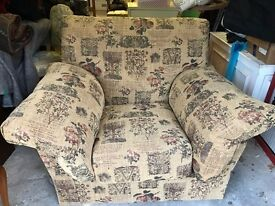 Extremely comfy large armchair