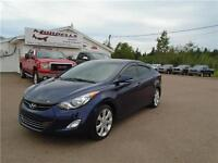 2013 ELANTRA LIMITED LEATHER ROOF!!!!!