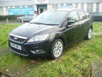 Ford Focus 1.6 Zetec 5dr (black) 2010