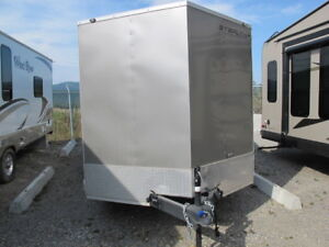 16 x 7 Stealth Enclosed ATV/Sled Trailer for sale
