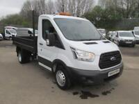 Ford Transit 350 2.2 Tdci 125Ps L2 Tipper DIESEL MANUAL WHITE (2015)