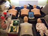 CPR Manakin Kit - Complete Set + AED