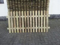 Picket panels 6x3